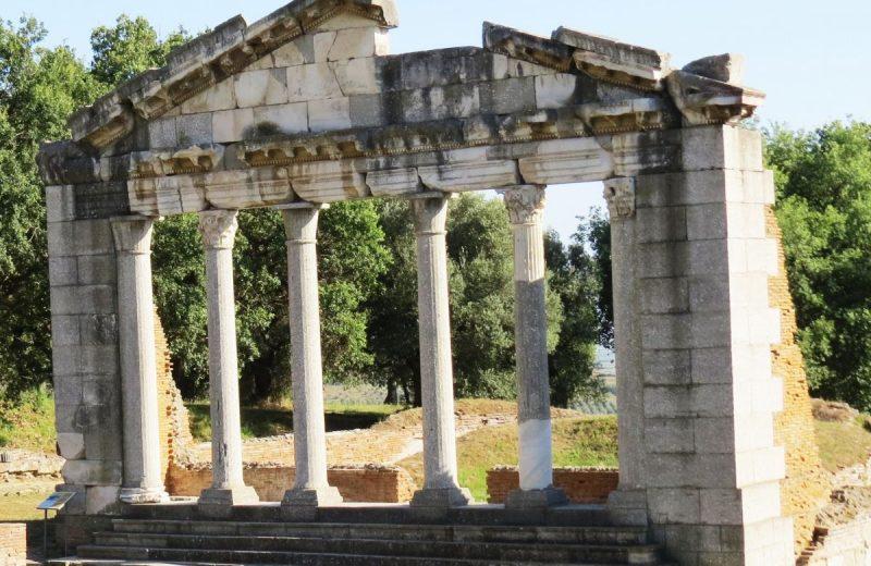 Stdadtteile von Apollonia, Albanien