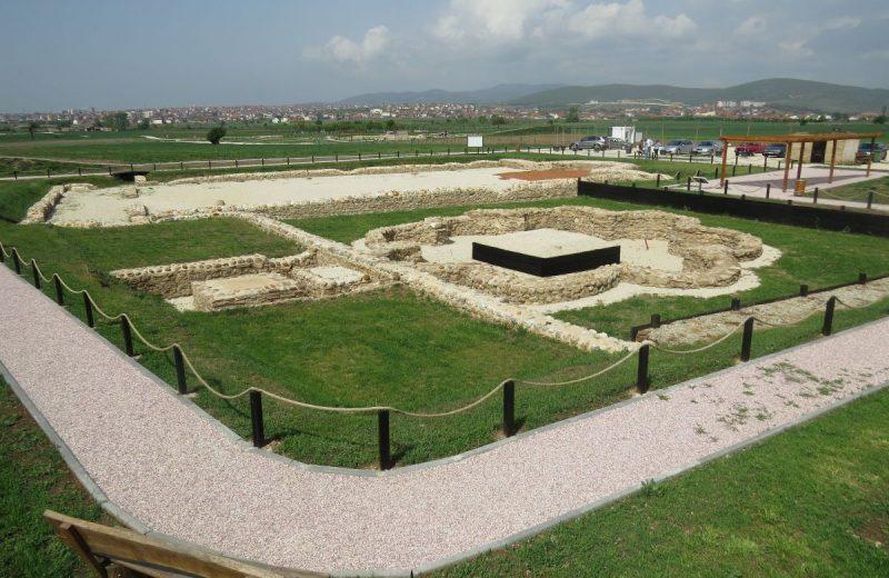 Ulpiana Ausgrabungen bei Gracanica