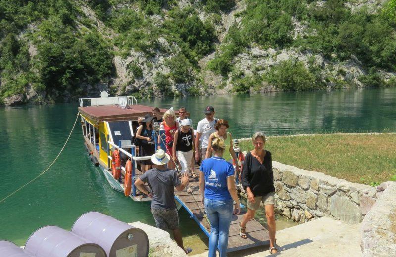 Koman See, Albanien