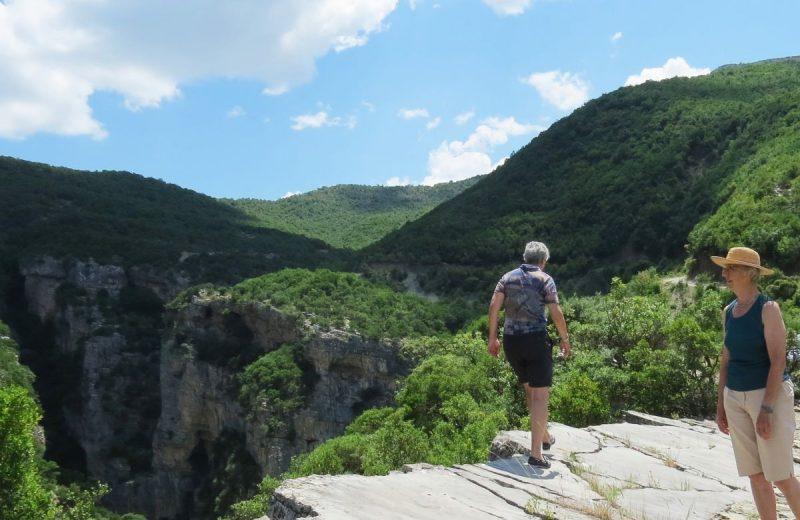 Bei Lengarica Schlucht, Albanien