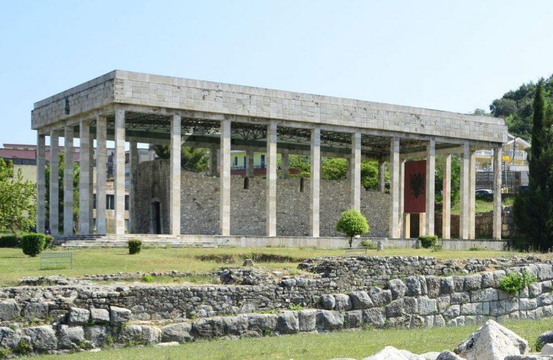 Die Grabstätte von Skanderbeg in Lezh, Albanien