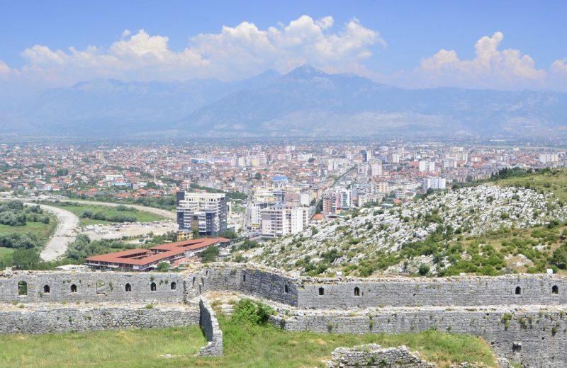 Shkodra die Stadt der alte Kultur in Albanien