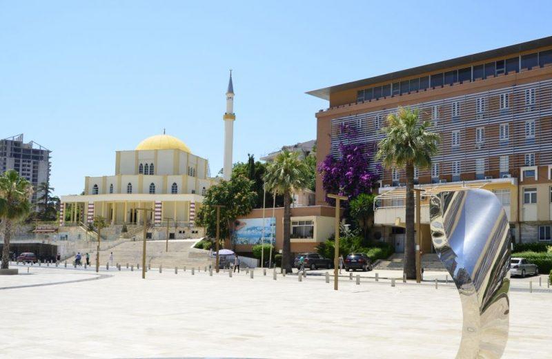Durrës, der grösste Hafen in Albanien