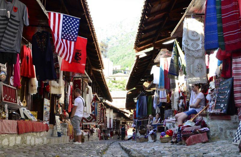 Gjirokastër, UNESCO Stadt, Albanien