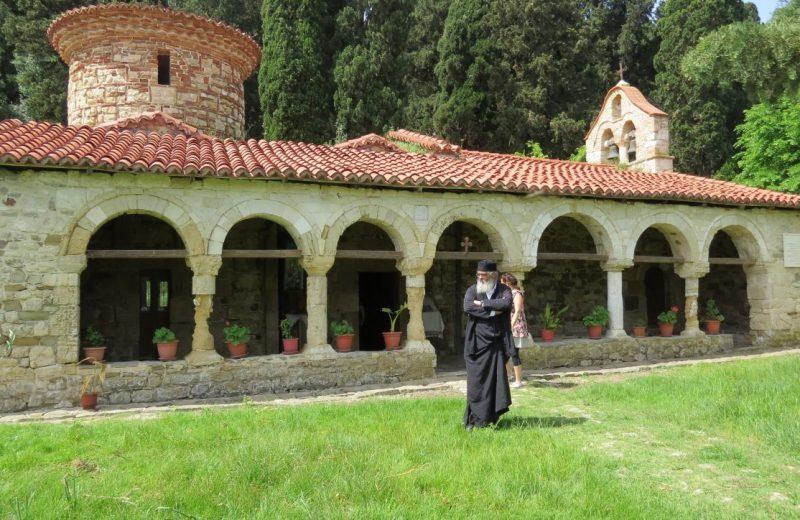 Orthodoxe Kloster in Zvernec bei Vlorë, Albanien