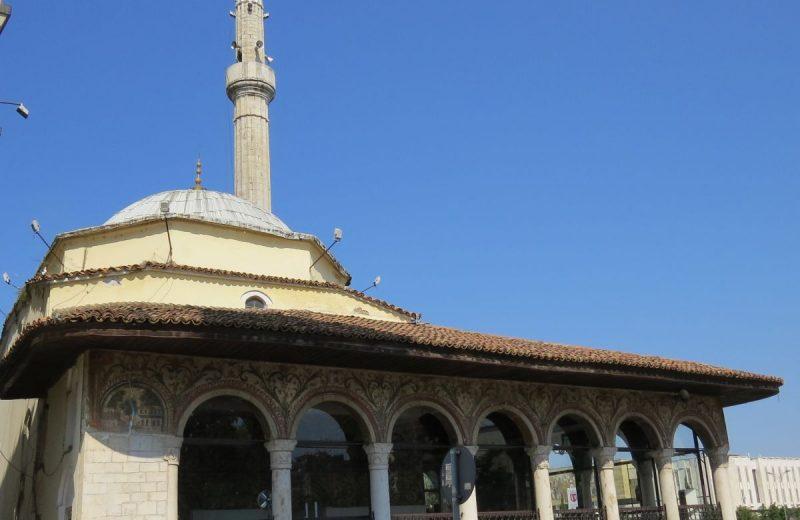 Et'hem Bey Moschee in Tirana, Albanien